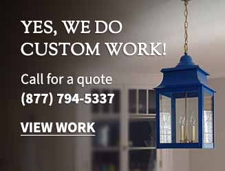 Yes we do custom work. Call us at 887-794-5337