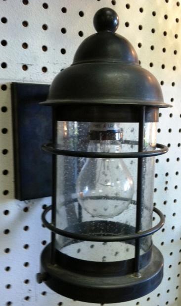 CCL3511 Lighthouse Wall Glass Cylinder Light