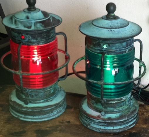 Cape Cod Small Nautical Table Lamps