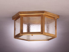 CCL4604 Hexagon Flush Lantern