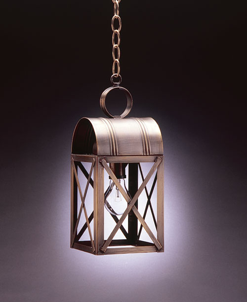 CCL6032 Brewster X-Bar Hanging Lantern