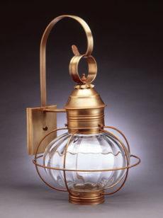 "CCL2541 10"" Glass Onion Wall Lantern Caged"