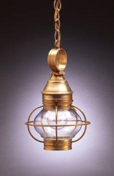"CCL2512 6"" Glass Onion Hanging Lantern Caged"