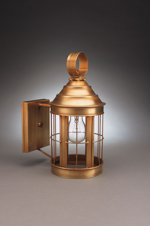 CCL3317-NS Small Nobska Light Wall Lantern, No Scroll