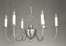 CCL606-6 Brass Chandelier