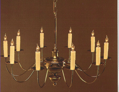 CCL608-10 Brass Chandelier