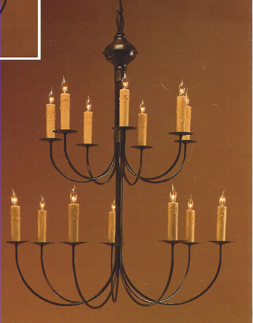 CCL800-14 Brass Chandelier