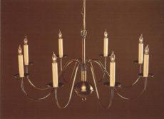 CCL803-8 Brass Chandelier