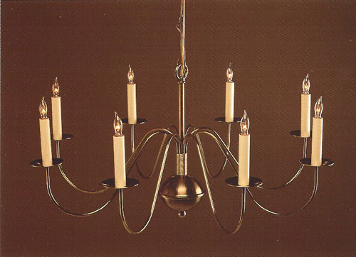 CCL803-8 Brass Chandelier