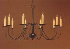 CCL803-10 Brass Chandelier