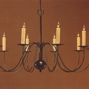 CCL803-10 Brass Chandelier