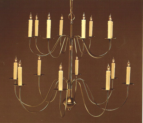 CCL804-16 Brass Chandelier