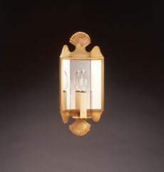 CCL126 Double Scallop Sconce