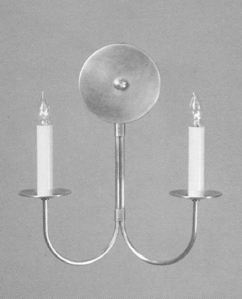 CCL317-2 Double J-Arm Sconce