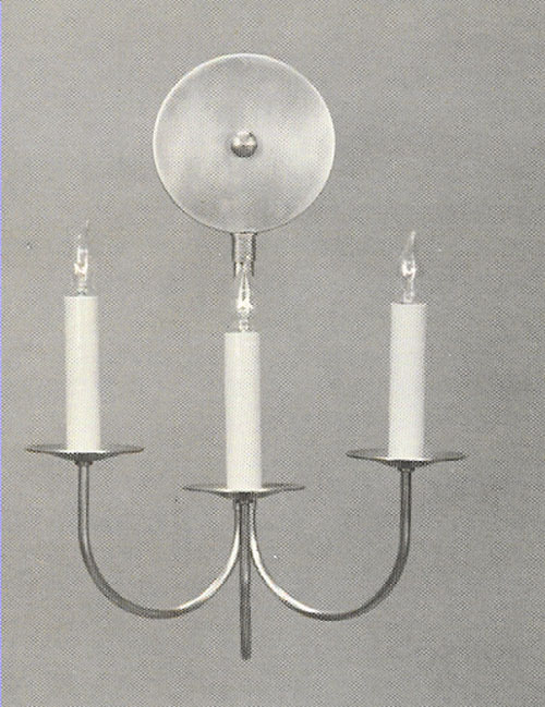CCL317-3 Triple J-Arm Sconce