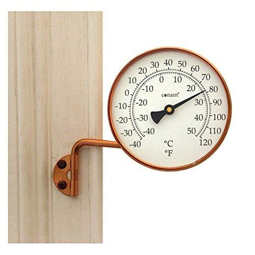 CCL Brass or Copper Dial Thermometer
