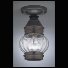 "CCL2014 6"" Glass Cageless Onion Ceiling Lantern"