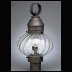 "CCL2043 10"" Glass Onion Post Lantern"