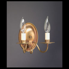 CCL129 Oval Two Arm Sconce