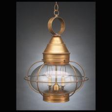 "CCL2572 12"" Glass Onion Hanging Lantern Caged"