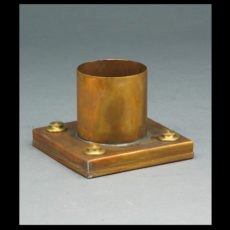 CCL Antique Brass Pier Mount