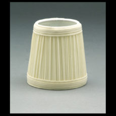 Eggshell Pleated Chandelier and Sconce Lampshade