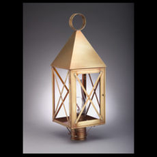 CCL7053 Farmer's X-Bar Post Lantern