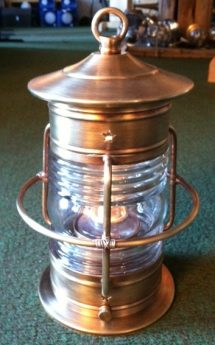 Cape Cod Table Small Caged Oil Lamp