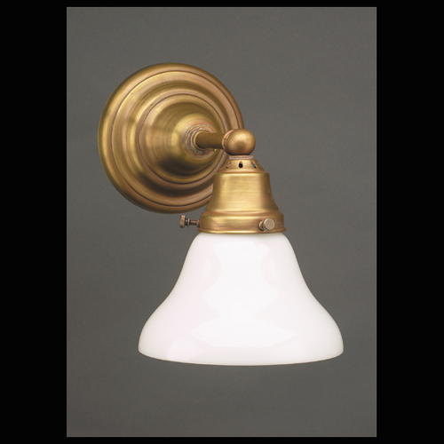 CCL215-51W Round Opal Shade Sconce