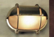 CCL4871 Brass Oval Wall Bulkhead Light