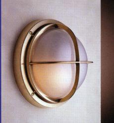 ST2226/4452 Brass Criss-cross Bulkhead Light