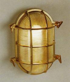"ST2034/4068 10.5"" Large Oval Bulkhead Cage Light"
