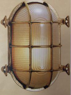 "CCL4071 7.75"" Oval Bulkhead Cage Light"