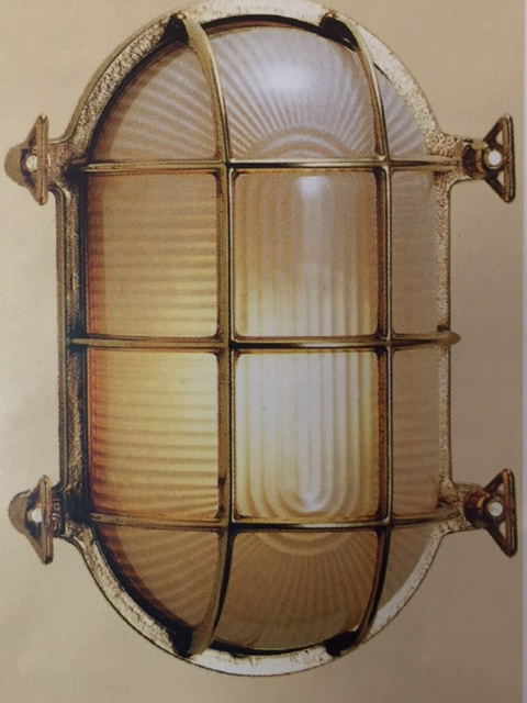 "CCL4071 7.75"" Oval Bulkhead Cage Light"