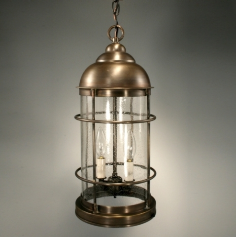 CCL3532 Lighthouse Hanging Glass Cylinder Light