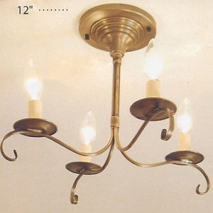 CCL984F Ceiling Flush Mount Chandelier