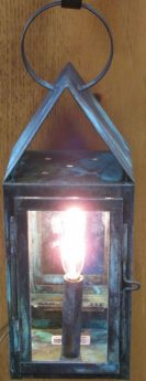 Cape Cod Quilty 211 Wall Lantern