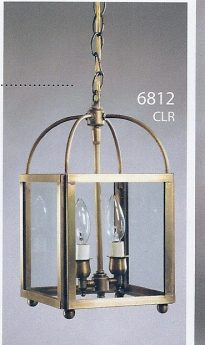 CCL6812 Two Candle Hanging Lantern