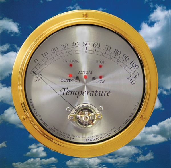 CCL Cape Cod Indoor/Outdoor Thermometer
