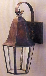 Six Panel Champlain Wall Lantern