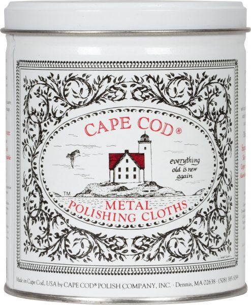 CCL Cape Cod Polishing Cloths Tin