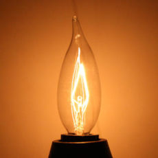 CCL40 Watt Candelabra Vintage Bulbs (2 Pack)