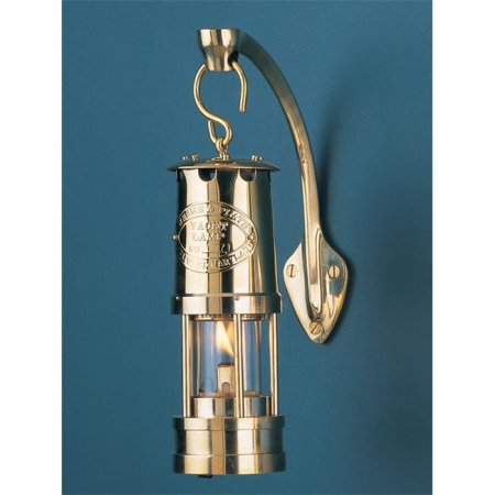 CCLWP600 Brass Mini Yacht Oil Lamp Including Bracket